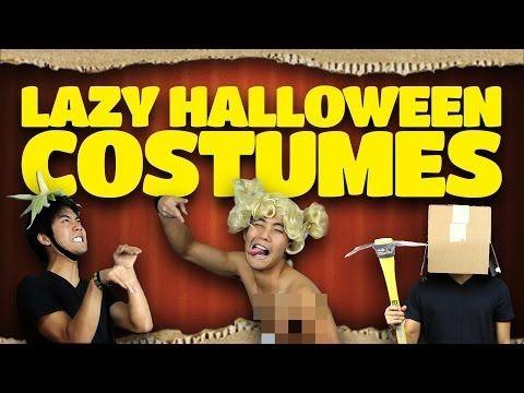 Lazy Halloween Costume Ideas - Nigahiga