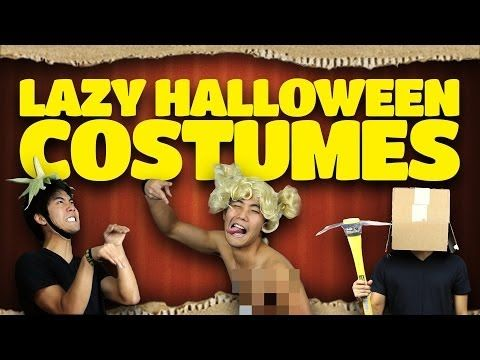 ▶ Lazy Halloween Costume Ideas - YouTube