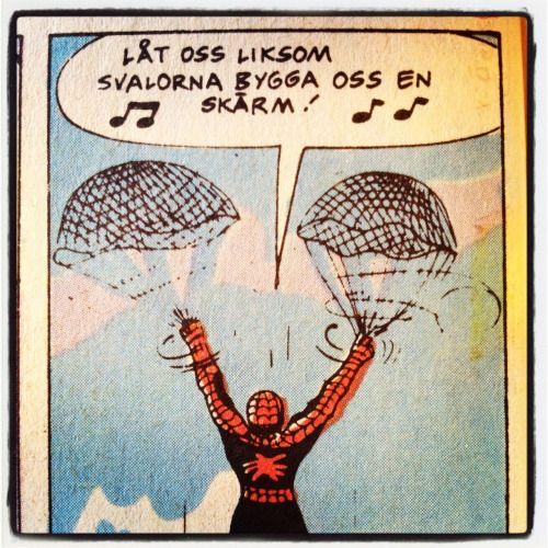 Spindelmannen skärmar av. – Fantastiska Fyran #8 1981