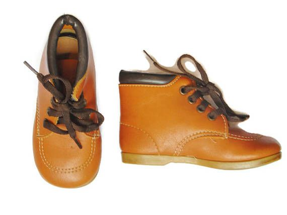 Toddler Boots Leather Boots Toddler Shoes For Boys Brown