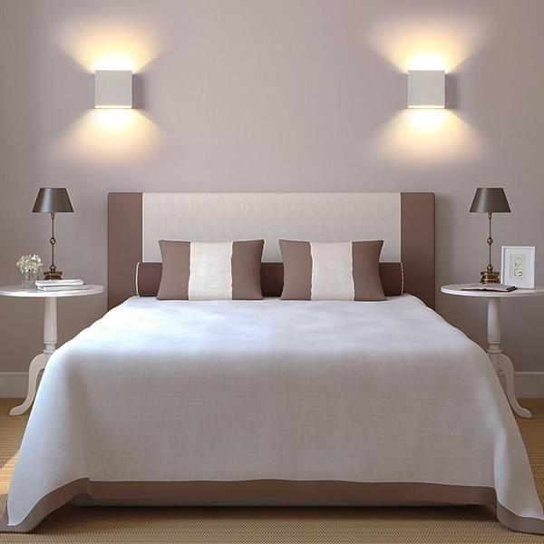 Led Box Wall Lamp Sconces Living Room Wall Lights Bedroom Wall