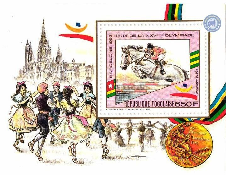 Barcelona Olympic Games – Souvenir Sheet