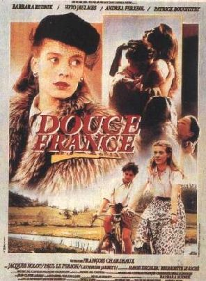 Douce France , 1986 France , by Jean-Luc Gaget .  Scene : the 16-y-o Frédéric (Hito Jaulmes) loves Lise (Barbara Rudnik 28-y) German Jewish