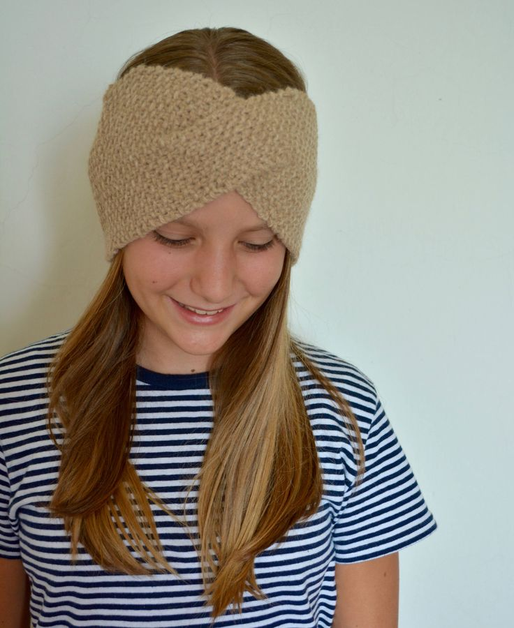 Fascia paraorecchie lavorata a maglia, fascia invernale per lei, 100% Alpaca Handmade with knit di AlpacaDiMarano su Etsy