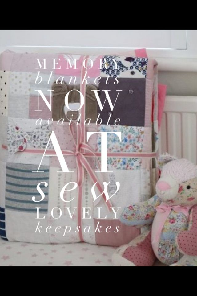 Memory quilt by sew lovely keepsakes