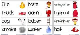 Fire Safety Words