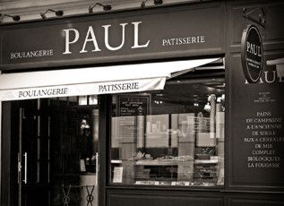 Paul bakery and patisserie in London...oh yum.