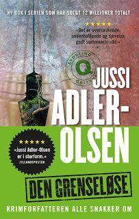 """"""" Born to be a reader"""": Den grenseløse av Jussi Adler-Olsen"""