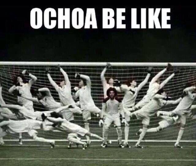 Guillermo Ochoa - Mexico goal keeper - 2014 World Cup
