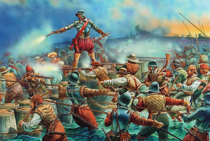 Defensa de Cartagena de Indias 1585
