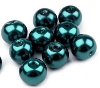Tekla gyöngy 0,8 cmolajzöld 20 db - Rea Tex Kézimunka Webáruház