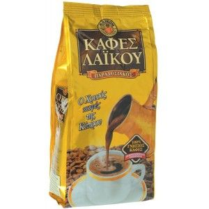 Greek Cyprus Traditional Laiko Gold Coffee 200g