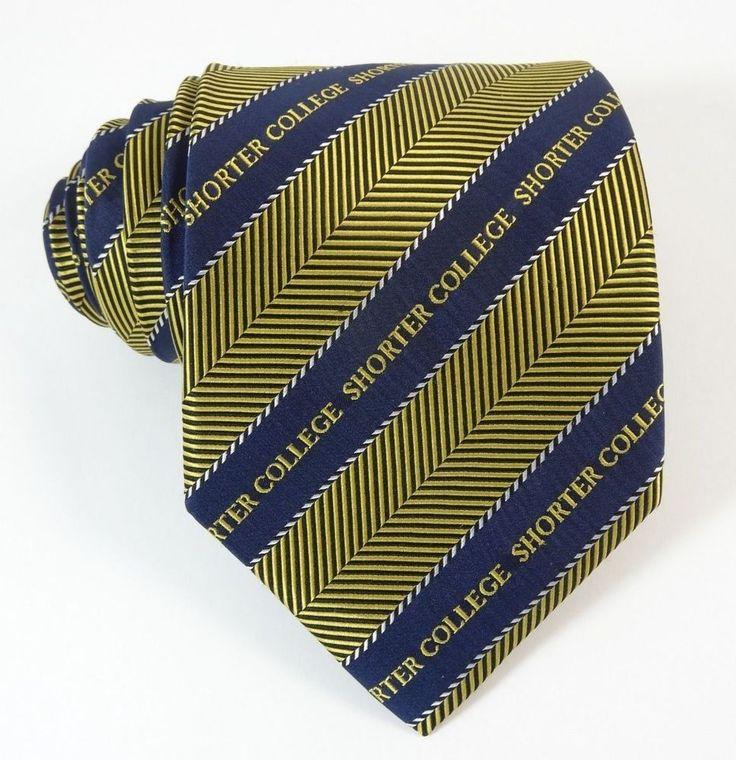 Shorter College University Silk School Necktie | The Tie Chest