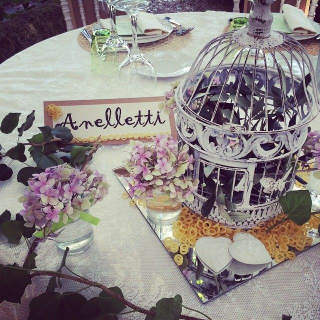 Table setting details from an outdoor wedding lunch. zia_cathys's photo on Instagram