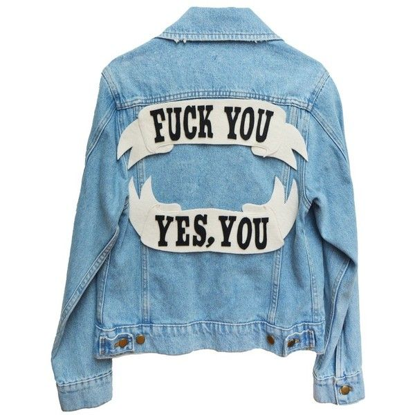 CUSTOM DENIM JACKET (€135) ❤ liked on Polyvore featuring outerwear, jackets, patch jacket, jean jacket, denim jacket, patch denim jacket and blue jackets