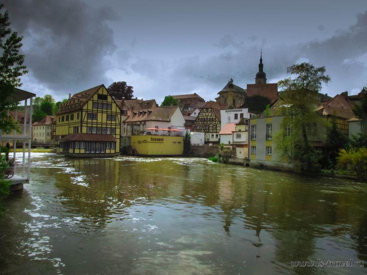 Бамберг — сказочный город  на реке Регниц.