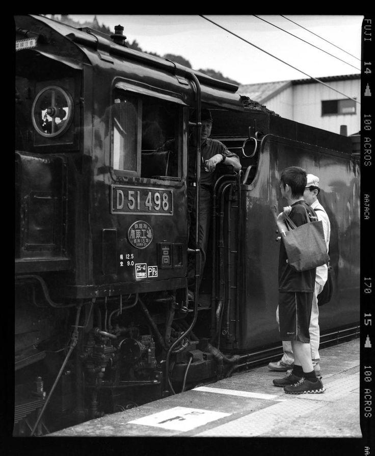 先週の写真  #slレトロ碓氷  #sl  #蒸気機関車 #モノクロ #フィルム #自家現像 #monochrome #film #selfdevelop #mamiya #MamiyaRB67 #steamlocomotive #blackandwhite #fujifilm #acros #neopan #steampunk