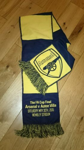 #Arsenal f.a cup #final #scarf 2015, View more on the LINK: http://www.zeppy.io/product/gb/2/111838487264/
