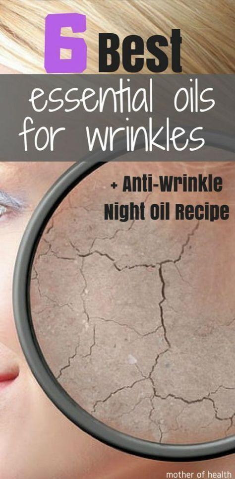 The 6 best essential oils for wrinkles, ever! + Anti-wrinkle Night Oil Recipe - ...  -  Hautpflege-Rezepte