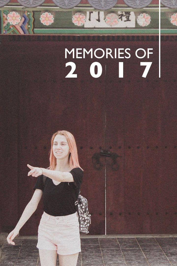 A collection of memories of my 2017, in video. Between Lisbon and South Korea; friends and family. ❤