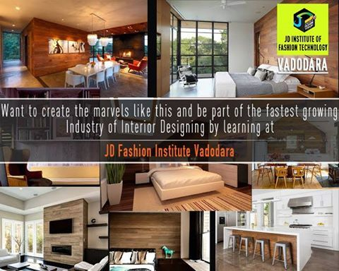 Be the creator of marvels in Interior Designing #jdfashioninstitute , #fashion , #interiordesign , #Vadodara‬