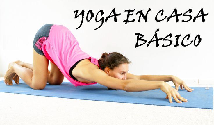 Yoga para principiantes básico | Todo cuerpo día 1