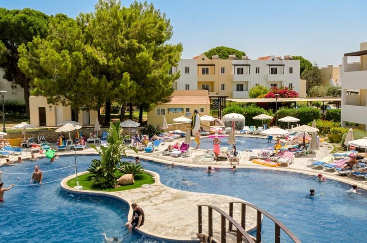 Our island oasis within the People's Pool #Pefkos #Rhodes #LindianCollection #MatinaPefkos