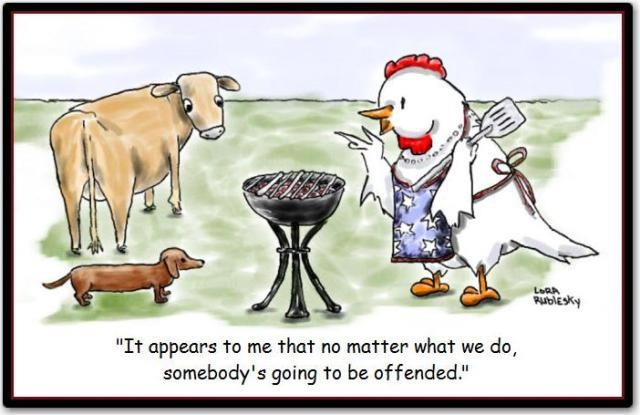 Politically correct barbecue   all things doxie ...