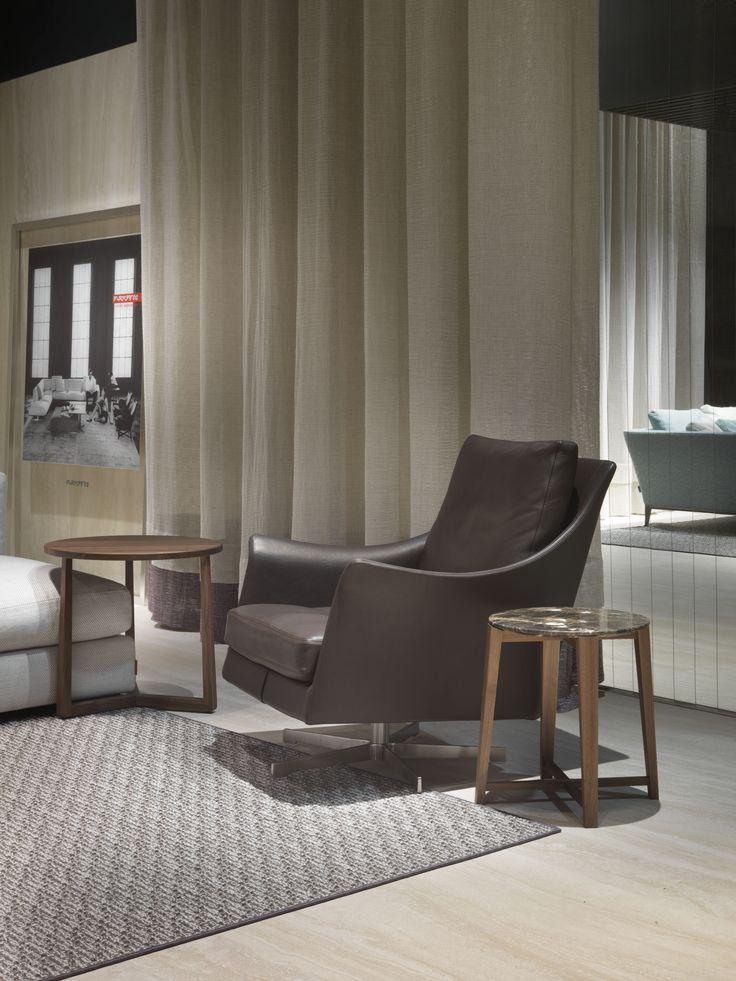 #FLEXFORM BOSS #armchair. Find out more on www.flexform.it