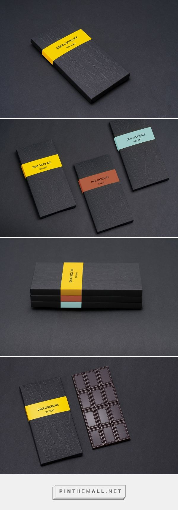 The Best Packaging | Dark Chocolate – шоколад (Концепт) - created via http://pinthemall.net