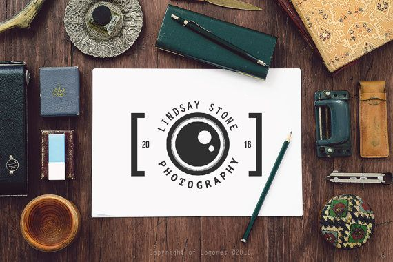 Camera Logo, Photography Logo, Instant Download Logo, DIY Logo Design, Camera…