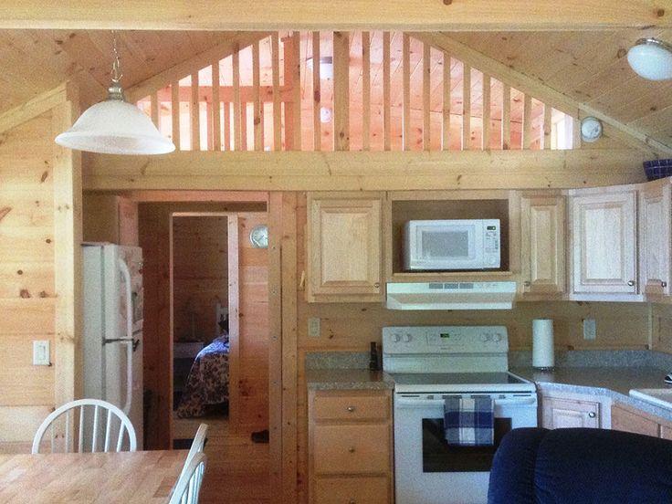 Pre-built Cabins – Interiors – Kozy Log Cabins