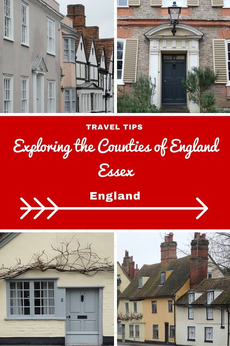 England Travel Inspiration - Exploring the Counties of England, Essex!  Cute little villages and a gorgeous gluten free afternoon tea all in Essex