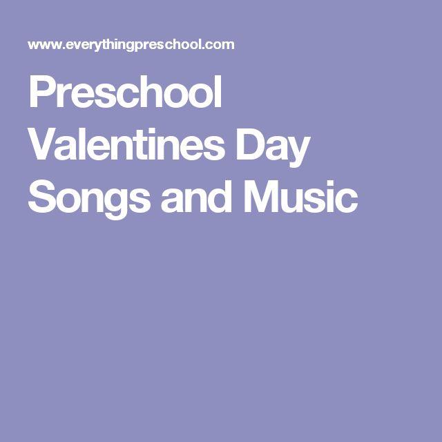preschool groundhogs day songs and music - Preschool Valentine Songs