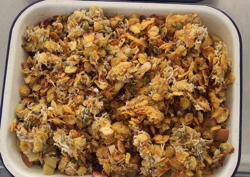 Crunchy Fruit Crumble Gluten Free