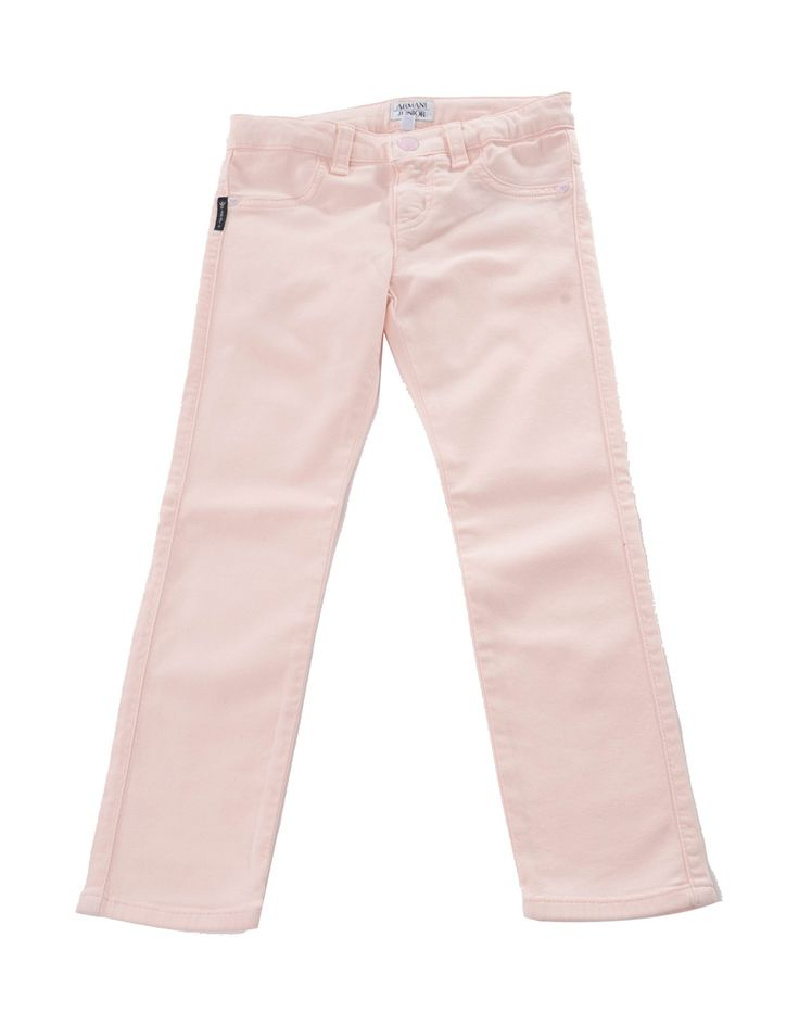 Armani Pink Skinny Stretch Cotton Jeans | Accent Clothing