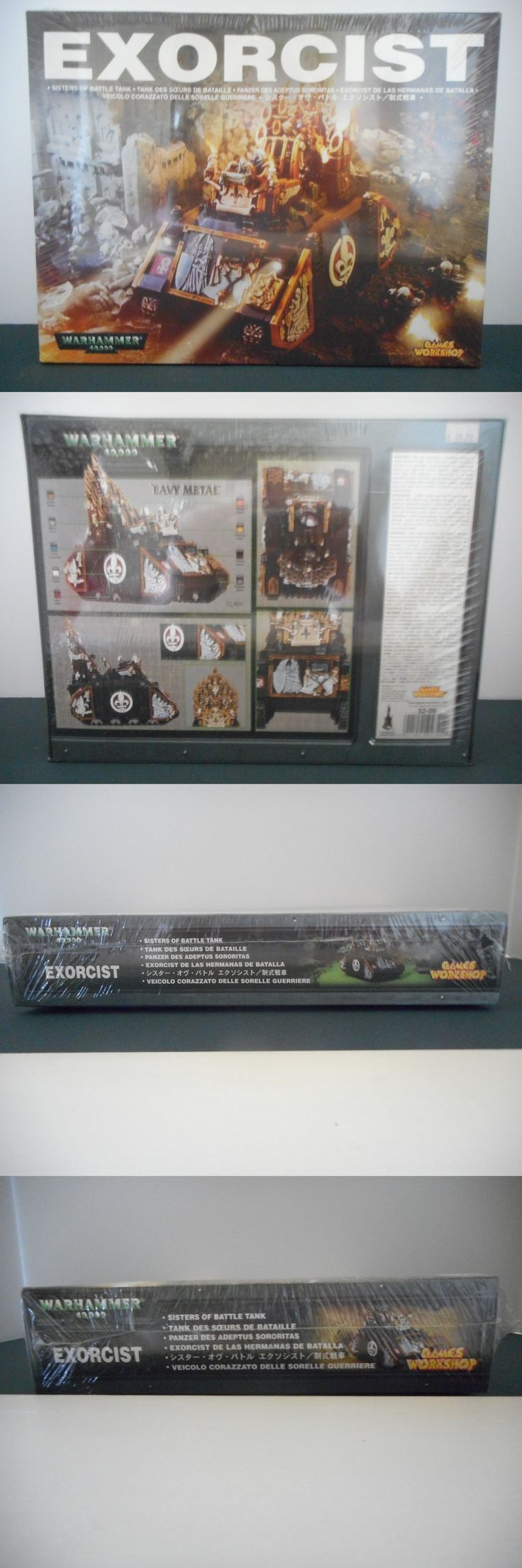 Lord of the Rings 44011: Games Workshop Warhammer 40K Sisters Of Battle Exrocist Battle Tank -> BUY IT NOW ONLY: $75 on eBay!