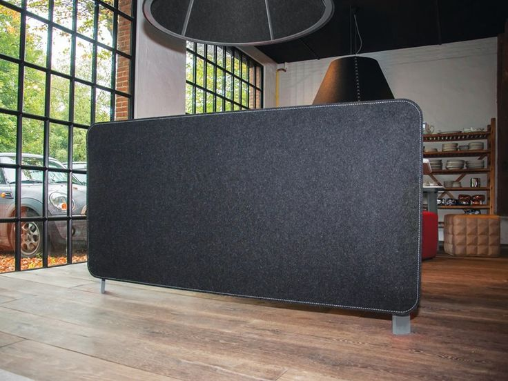 Acoustic room/desk divider BUZZIFRONTDESK by Buzzispace. | design Buzzispace Design Team