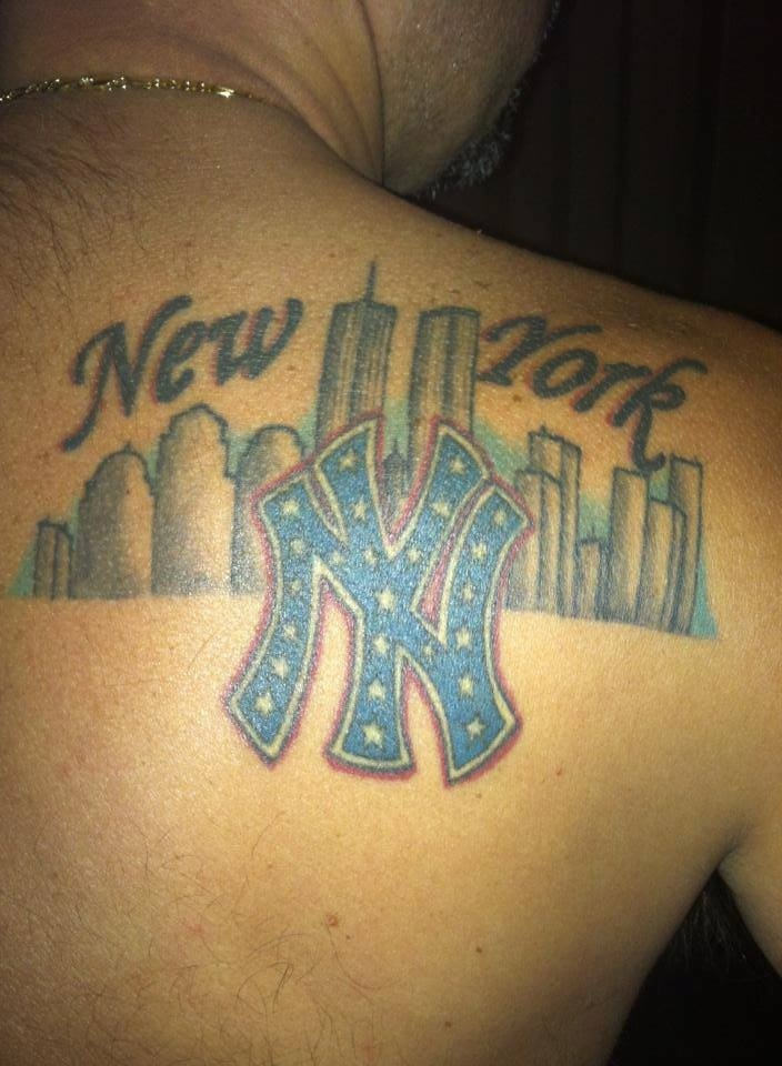23 best new york yankees tattoos images on pinterest for New york yankees tattoo
