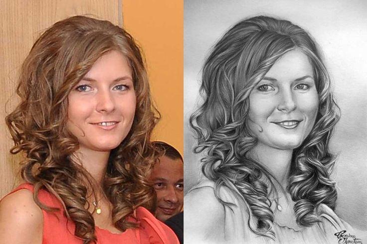 Desen după Imagine 21 - Desen în Creion de Corina Olosutean // Drawing from Picture 21 - Pencil Drawing by Corina Olosutean