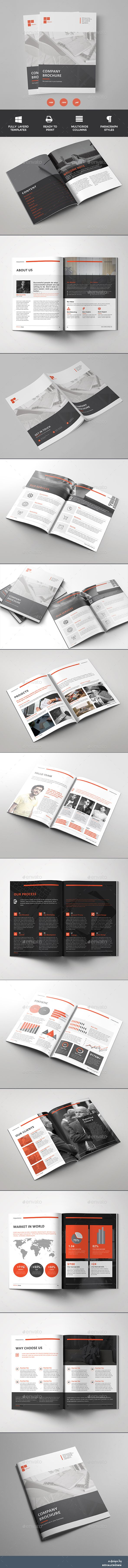 Brochure — InDesign INDD #bifold #colorful • Download ➝ https://graphicriver.net/item/brochure/18820472?ref=pxcr