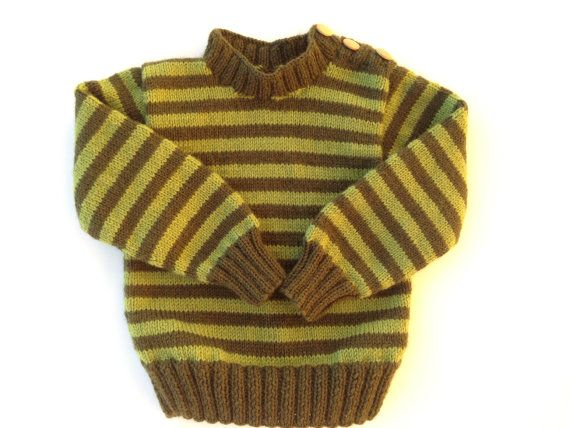 Hand knit sweater. Toddler size 12-24 months. Ready to by olinnell