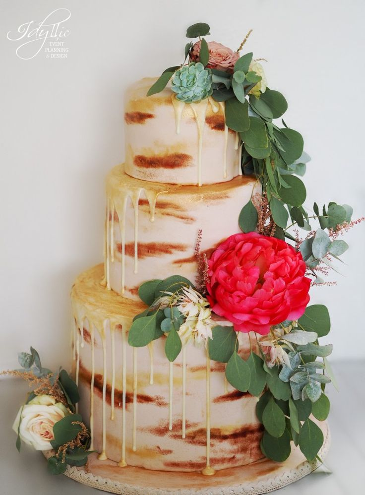 tort nunta design deosebit by Idyllic /  wedding cake design