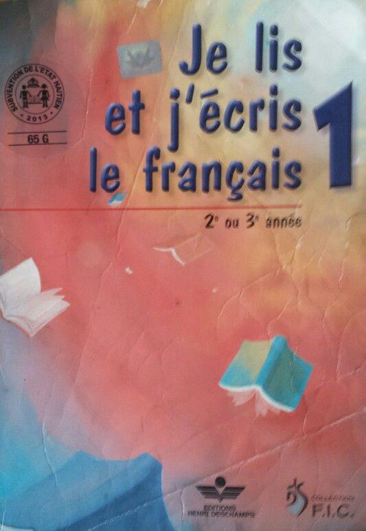 Livre de lecture et d'écriture en 1ėre année.