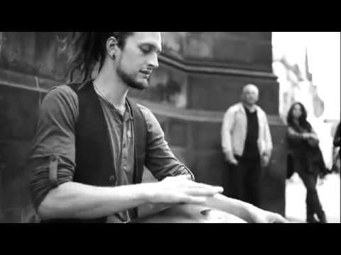 Daniel Waples creates beautiful celtic like music with a Hang  - a 12 year old musical instrument that is a modern version of an African/Asian steel drum.