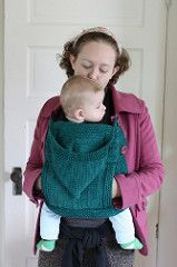 Ravelry: mycupcake's Hooded Coat Extension Panel (for Babywearing)