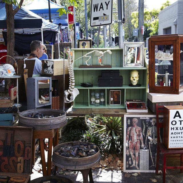 Surry Hills Markets in Sydney, Australia