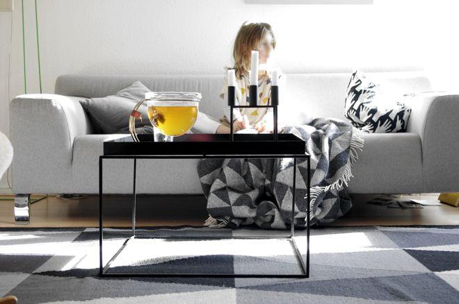 M i MA: HAY Tray Table, Connox, Mono Teekanne, ly Lassen Kerzenständer, Slim Sophie, Stehlampe, bastisRIKE