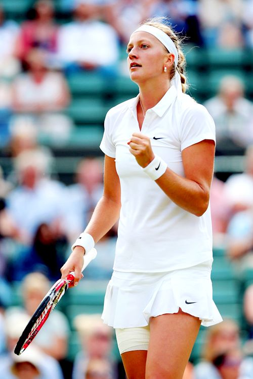 2014 Wimbledon Championships Second Round; Petra Kvitova def. Mona Barthel #WTA #Kvitova #Wimbledon