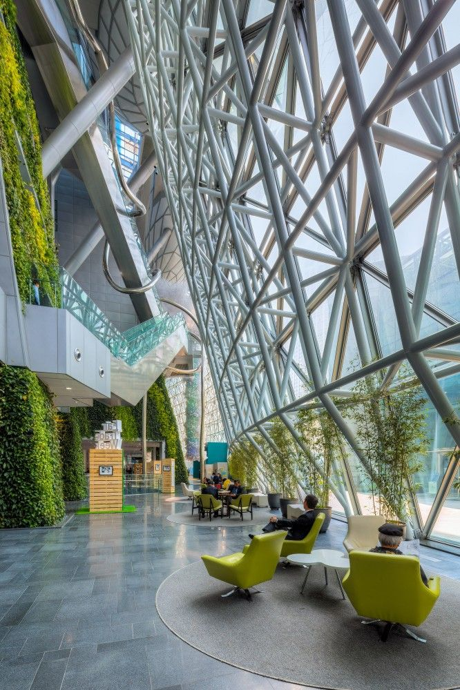 Seoul New City Hall / iArc Architects. Más sobre ciudades sostenibles en www.solerplanet.com